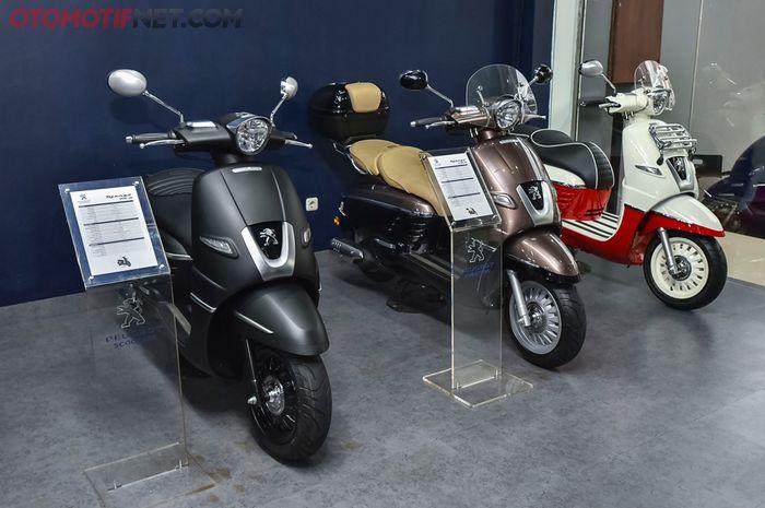 Showroom Peugeot Motorcycle Indonesia