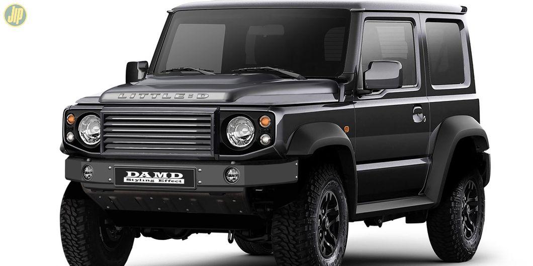 All New Jimny dengan body kit 'Little:D' mirip seperti Land Rover Defender