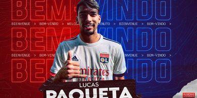 RESMI - AC Milan Lepas Lucas Paqueta ke Lyon, Houssem Aouar Makin Dekat ke Arsenal