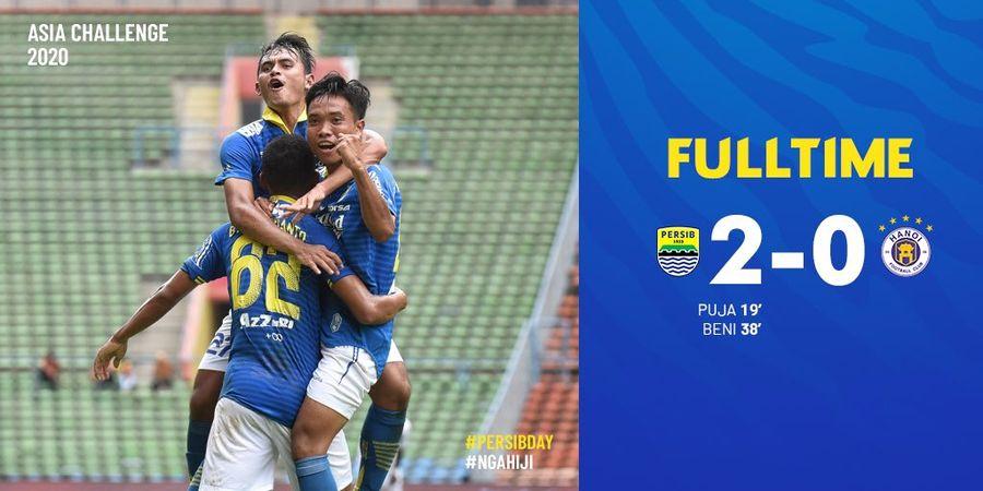 Rekrutan Anyar Persib Bandung Tampil Memuaskan di Laga Melawan Hanoi FC