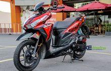 Honda Vario Gila! Pakai Part Serba Mewah, Remnya Aja Sekelas MotoGP