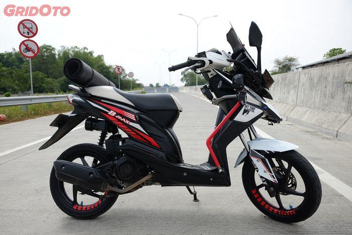 Modifikasi Motor Beat Karbu Touring Blog Gambar Modifikasi Motor
