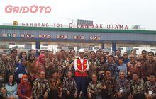 Diresmikan Presiden Jokowi, Tol Depok-Antasari Sesi Pertama Sudah Dibuka
