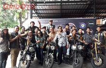 Ratusan Anggota Kawasaki Retro Riders W175 Sukses Adakan Kopdargab