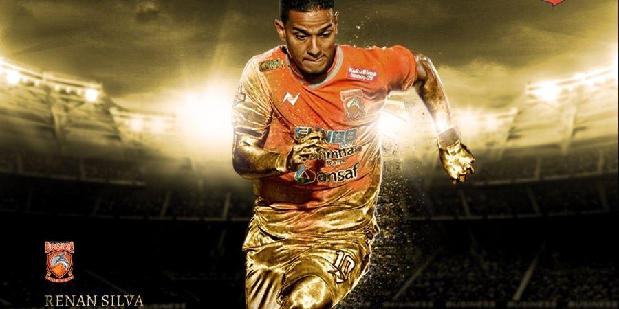 Gawang Bali United Jadi Makanan Empuk Renan Silva di Liga 1 2019