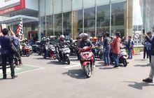 Memperingati Hari Pahlawan, Komunitas Honda Vario Jelajahi Tempat-tempat Bersejarah