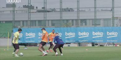 Lionel Messi Cedera Saat Latihan Kebugaran, Fisiknya Bermasalah?