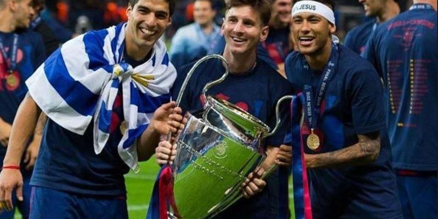 Raih Treble Winners di Musim 2014-2015, Trio MSN  Diklaim Bikin Barcelona Lebih Superior