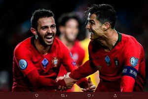 Pesan 'Sombong' Cristiano Ronaldo untuk Dewa Sepak Bola Argentina