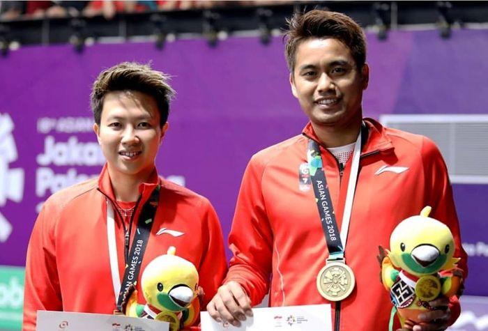Liliyana Natsir dan Tontowi Ahmad