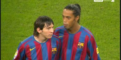 Ronaldinho: Lionel Messi Harus Bertahan di Barcelona, Dia adalah Sejarah Klub