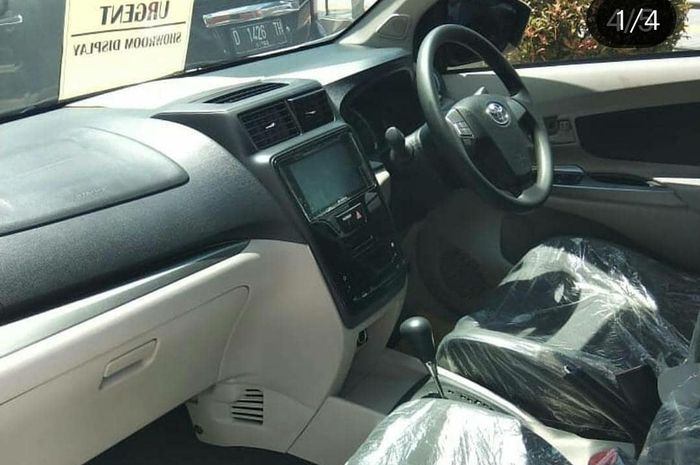 Desain interior Toyota Avanza 2019 mirip dengan sebelum facelift