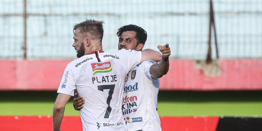 Selain Kritik Platje, Pelatih Bali United Akui Timnya Tak Main Efektif