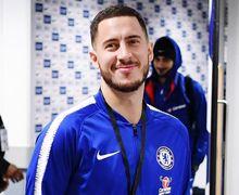 Reaksi Mengejutkan Eden Hazard Ketika Diserbu Penyusup dalam Laga Chelsea Vs Malmo