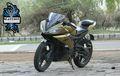 Yamaha R15 Terlihat Jadi Elegan Setelah Kena Semprot Warna Dual Tone