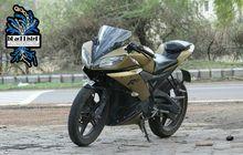 Yamaha R15 V2 Cuma Ide Ganti Warna Dual Tone, Simpel Tapi Dilirik