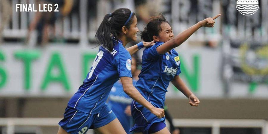 Menang atas Tira-Persikabo, Persib Putri Sah Jadi Ratu Sepak Bola Nasional