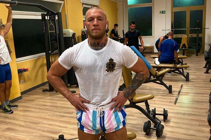 Tampilan terbaru petarung UFC asal Irlandia, Conor McGregor dalam unggahan Instagram pribadinya.