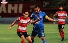 hasil liga 1 - atasi arema fc, madura united rebut posisi kedua