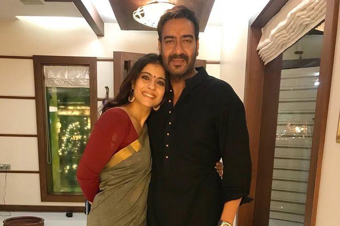 Kajol bersama sang suami, Ajay Devgn