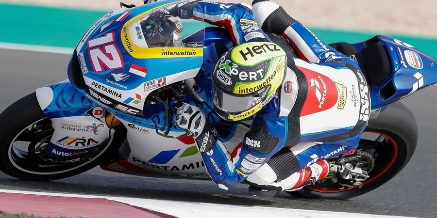 Hasil Kualifikasi Moto2 Belanda 2021 - Pembalap Pertamina Mandalika SAG Tampil Heroik