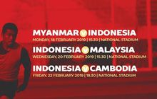 Live Streaming Timnas U-22 Indonesia Vs Myanmar di Piala AFF U-22 2019