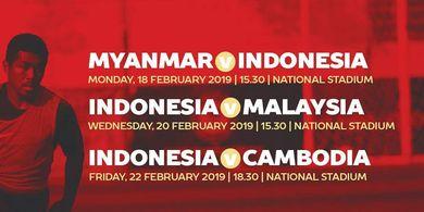 Susunan Pemain Timnas U-22 Indonesia untuk Hadapi Myanmar
