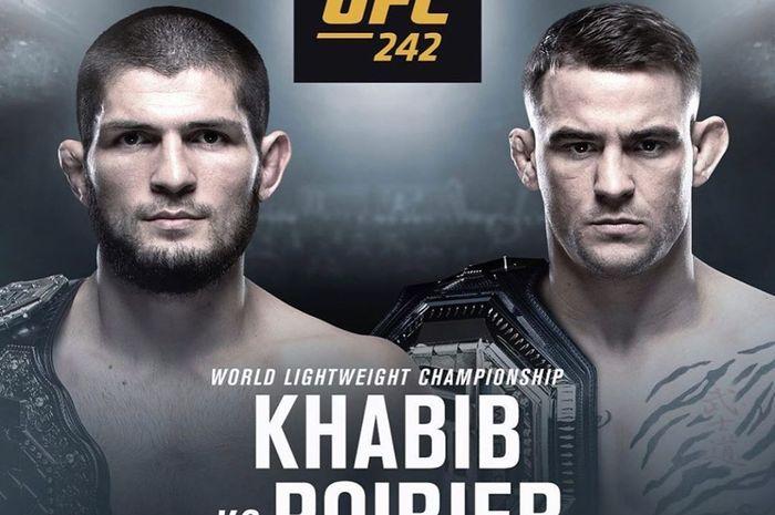 Promo untuk UFC 242 yang akan mempertemukan duel lightweight antara Khabib Nurmagomedov dan Dustin Poirier, Sabtu (7/9/2019).