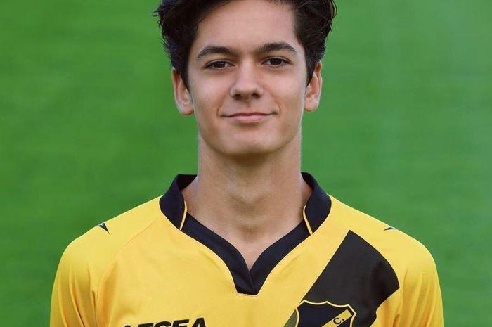 Pemain keturunan Indonesia-Belanda, Gilles Joannes, yang tengah berkarier bersama NAC Breda.
