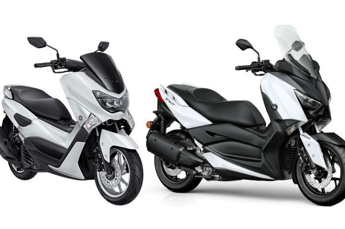 Yamaha NMAX dan XMAX