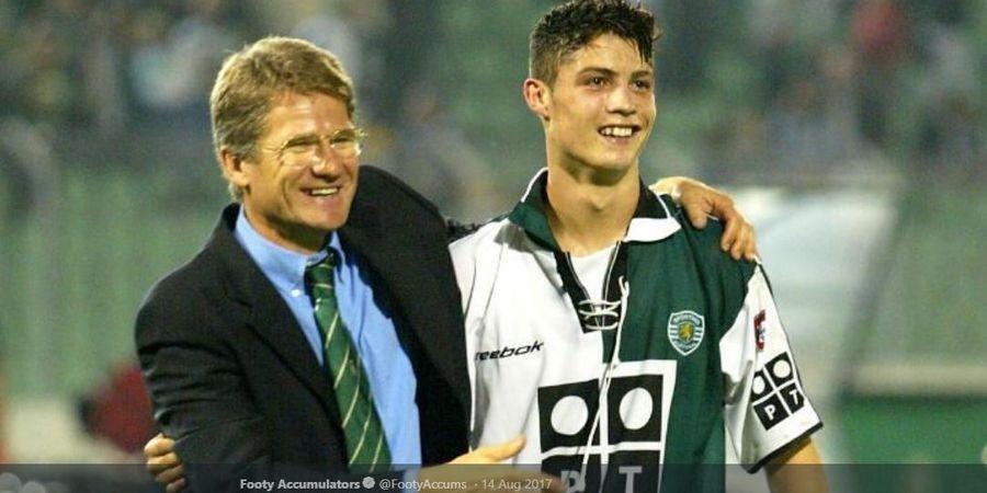ON THIS DAY - Cristiano Ronaldo Cuma Butuh 34 Menit untuk Cetak Gol Profesional Pertama