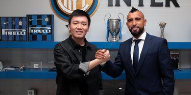 Gabung Inter Milan, Arturo Vidal Sempurnakan Taktik Antonio Conte