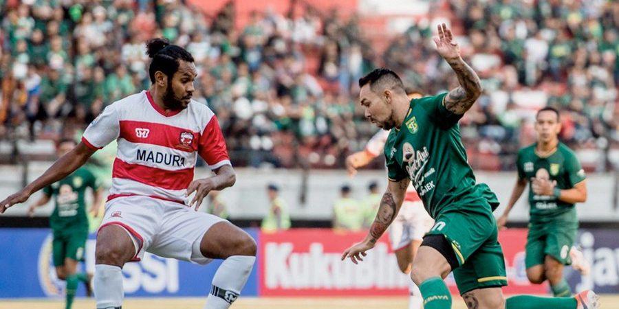 Hasil Piala Indonesia 2018 - Bonek Masuk Lapangan, Persebaya Diimbangi Madura United