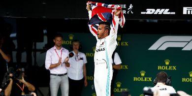 Update Klasemen F1 - Gagal Menang, Lewis Hamilton Masih di Puncak