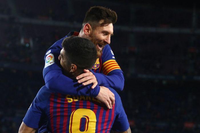 Persahabatan Lionel Messi dan Luis Suarez jadi salah satu hal menarik di LALIGA.