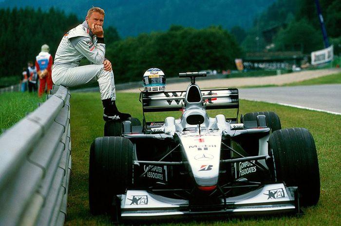 Mika Hakkinen, juara dunia F1 2 kali dari McLaren