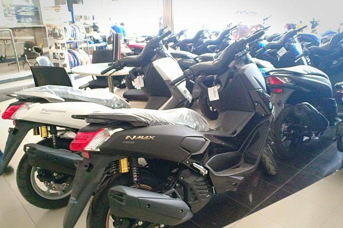 Ilustrasi dealer motor Yamaha
