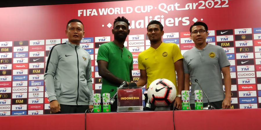 HT Malaysia Vs Indonesia - Tembakan Bebas MVP Liga Malaysia Bikin Garuda Tertinggal