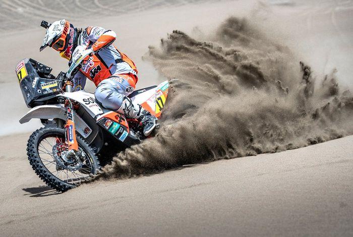 Laia Sanz berharap bisa menyelesaikan lomba di Reli Dakar 2019