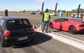 Drag Race VW Golf Lawan Lamborghini Huracan, Siapa Juaranya?