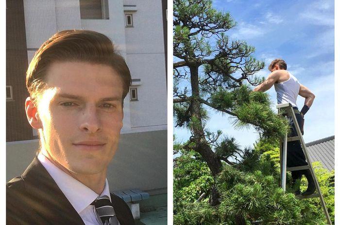 Pria asal Swedia ini lebih memilih jadi tukang kebun dibanding model