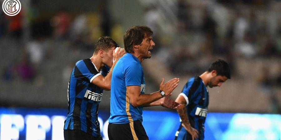 Conte Sebut Barcelona Ketakutan Satu Grup dengan Inter Milan