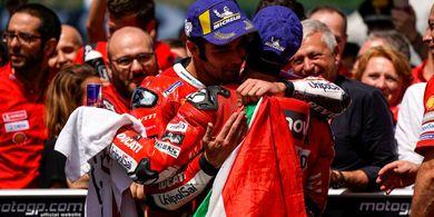 Demi Kejayaan Bersama, Ducati Jaga Harmoni Dovizioso dan Petrucci