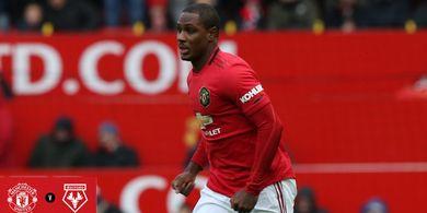 Striker 'Impor' Manchester United Bikin Sejarah Lewat Gol Debut