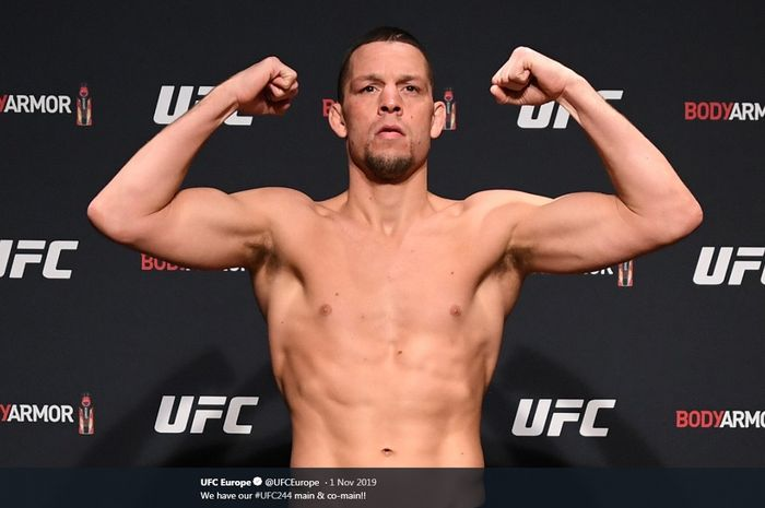 Petarung UFC asal Amerika Serikat, Nate Diaz.