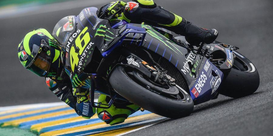 Valentino Rossi Cemaskan Akselerasi Motornya di MotoGP Prancis