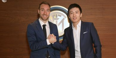 RESMI - Christian Eriksen Gabung Inter Milan