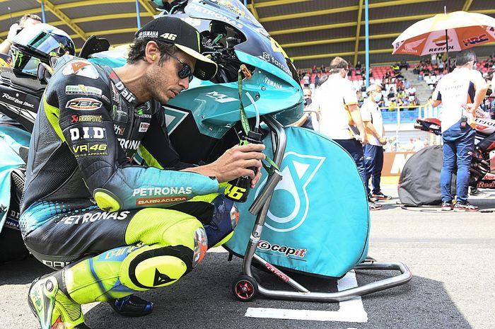 Pembalap gaek MotoGP, Valentino Rossi.