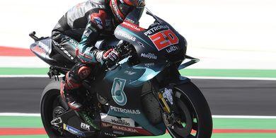 Hasil FP3 MotoGP Inggris 2019 - Fabio Quartararo Lebih Cepat dari Maquez dan Rossi