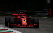 Sebastian Vettel Kalahkan Lewis Hamilton Di FP3 GP F1 Italia, Bedanya Kurang Dari Sedetik